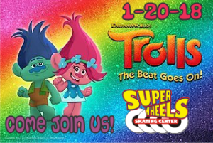 TROLLS - SUPERWHEELS - 2018