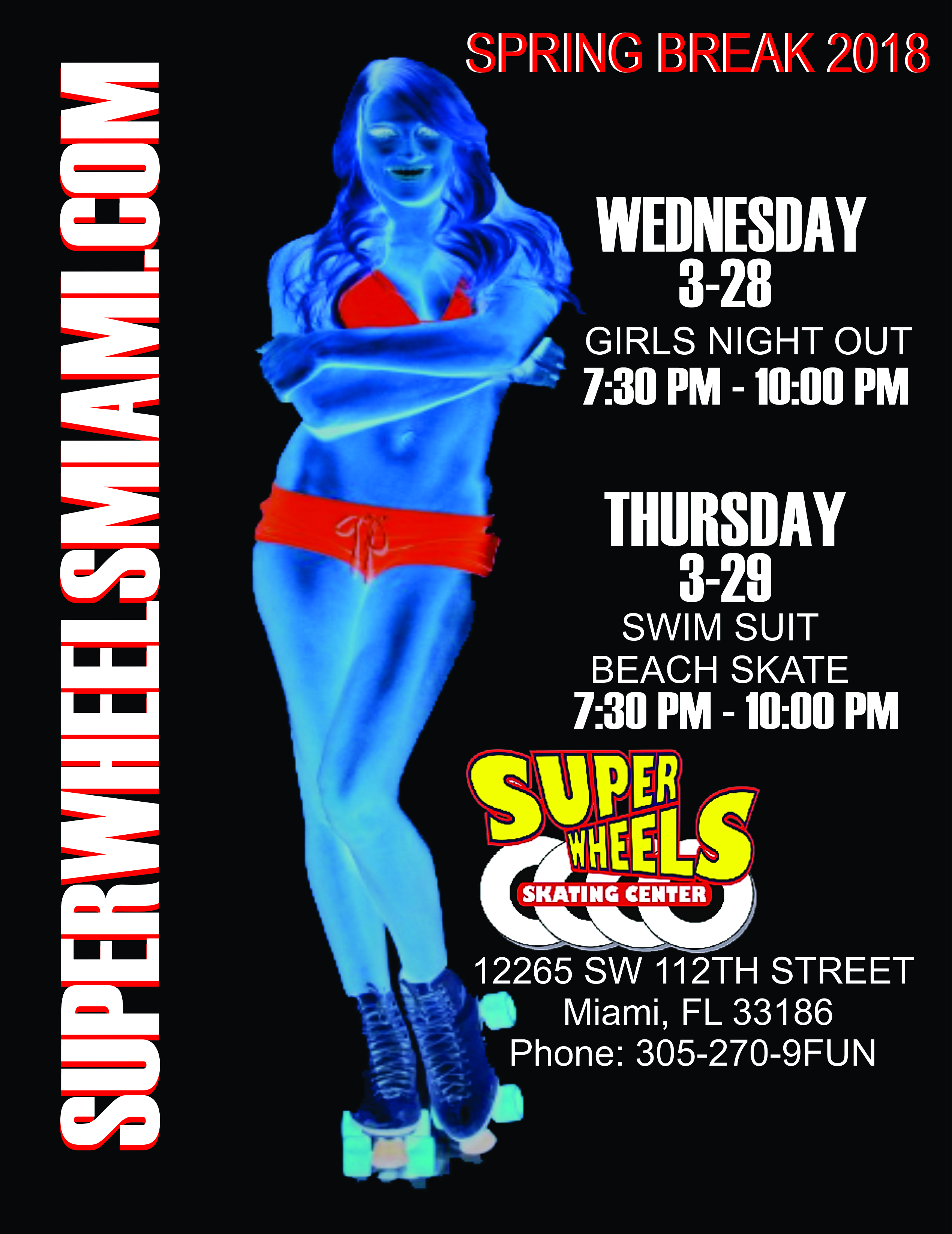 birthday party invitations – Super Wheels Miami