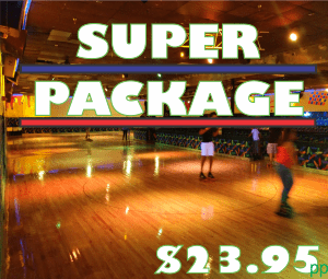 SUPER WHEELS SKATING PACKAGES - SUPER BIRTHDDAY