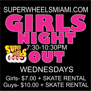 GIRLS NIGHT OUT WEDNESDAYS