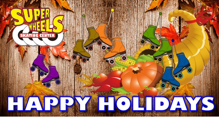hAPPY hOLIDAYS FROM SUPER WHEELS
