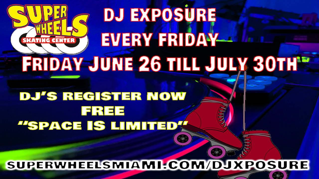 DJ BATTLE SUPER WHEELS MIAMI