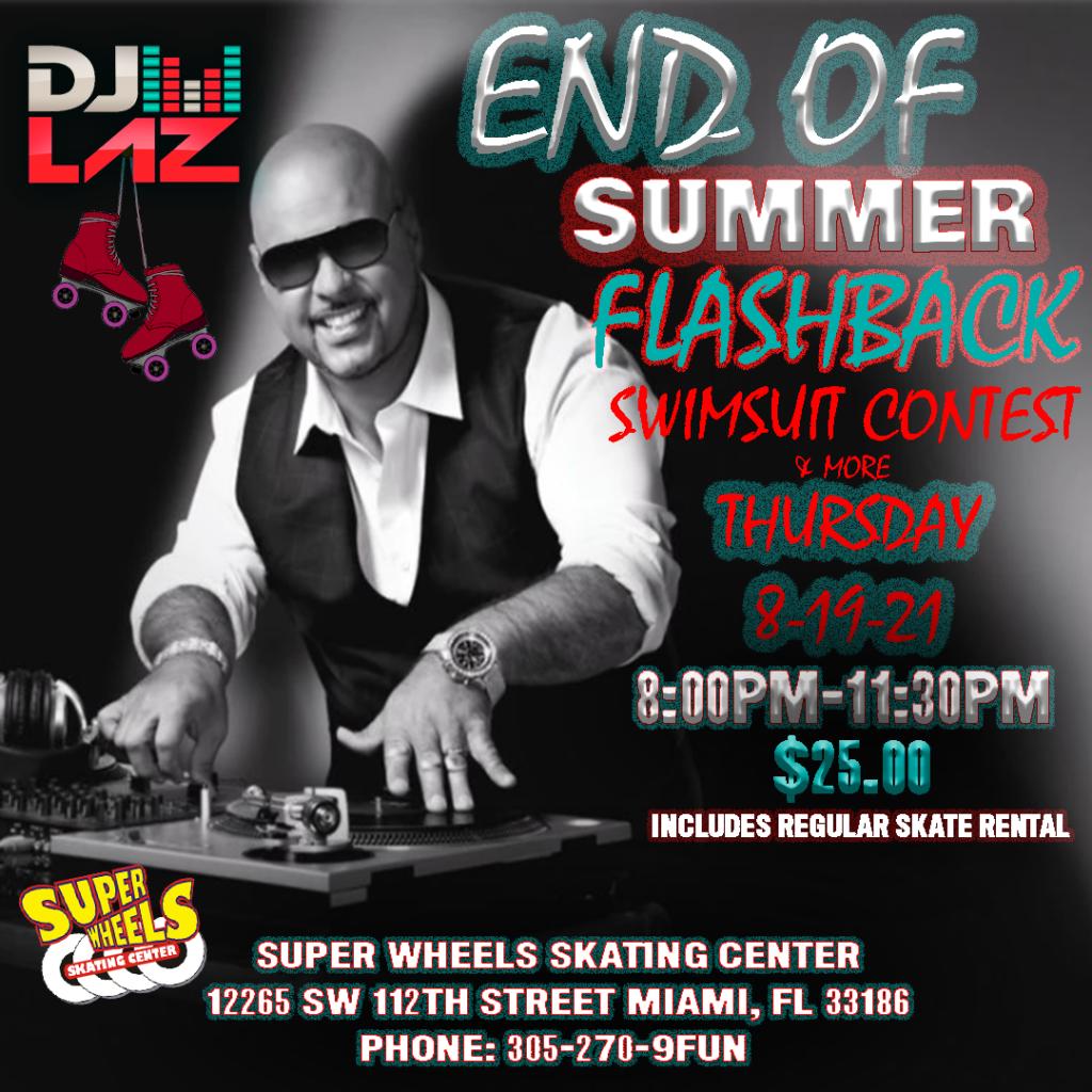 DJ LAZ FLASHBACK END OF SUMMER